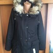 Куртка, парка, деми, размер M. Amisu. состояние отличное
