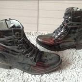 Стильные деми ботиночки 37р 24см