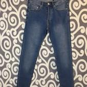 Стрейчевые джинсы &Denim skinny low waist для высоких модниц .