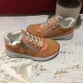 Кроссовки із натуральної замші і спорт матеріалу,від Bambulini,розмір 28,30
