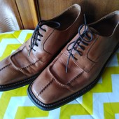 Фирменные кожаные туфли B&Co !!! Размер 42, стелька 28 см!!!