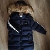 Новая очень дорогая зимняя куртка!!!92/98размер. Пролет. Покупала за 1500, польский