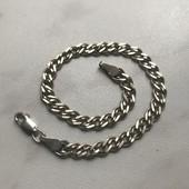 Серебро браслет 925 проба 19,5 см