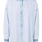 Джинсова рубашка оверсайз Esmara розмір 38 євро, підійде на наш М, Л, ХЛ