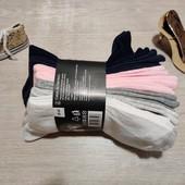 Германия!!! Лот из 7 коттоновых женских носков! 39-42 размер!