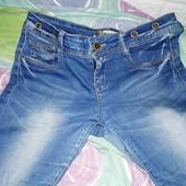 Стрейчевые джинсы р.27 ПОБ-43см