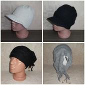 Теплые женские, подростковые шапки.