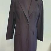 Пиджак из красивой дорогой ткани с блестками, размер 46-50, смотрите замеры