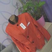Оригинальный розовый дорогой пиджак ПОГ-55см.