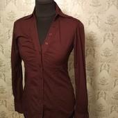 Бордовая рубашка LTB