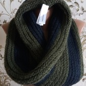 "Утепляемся : шарф -снуд ""Fashion Accessories ""100% полиакрил."