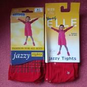 1 на выбор капроновые колготки в школу на танцы гимнастику 6-7л 116-122см под нарядное платье юбку