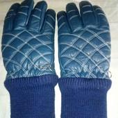 Зимние кожаные перчатки!