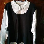 Блуза-кофта большого размера