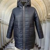 Куртка пальто зимнее батал 56 58 60 62