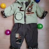 Демі куртка + штани на 1-1,5 роки