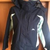 термо Куртка, еврозима, внутри флис, мембрана 5000, p. S. Trespass. сост. отличное