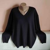 Як новий якісний дуже гарний светр р.3 XL.Заміри