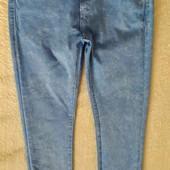 Бомбезні стрейчеві джинси, вказано 12-13р.Заміри