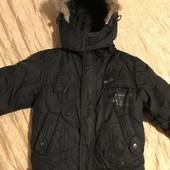 Тепла зимова куртка на зріст 110-116