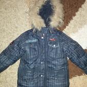 Зимний комбенизон Kiko (оригинал) для мальчика (рост 110-122)