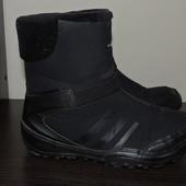 фирменные зимние термосапоги-ботинки Adidas .Оригинал primaloft, climawarm, temperature sensitive co