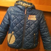 Куртка, деми, внутри флис, размер 4 года 104 см, Lief lifestyle.