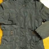 куртка пальто зимняя,состояние новой.