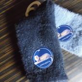 Пушистые женские носки, ангора, шерсть норки, размер 35-40