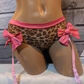 wow!!! сексуальные трусики с гертерами для чулок