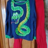 Пижама змея ,коттон,8-9 лет,идеал.сост.