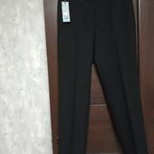 Фирменные новые красивые мужские брюки р.34-29 на пот 42-43 поб-56