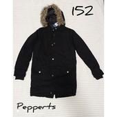 Куртка-парка 152 Pepperts чёрная и синяя