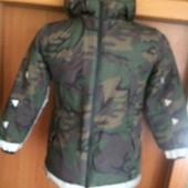 термо Куртка, еврозима, р. 8 лет 128 cм, Next.