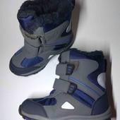 Новые. Thinsulate. Зимние ботинки. 17 см