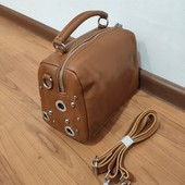 Фирменная кожаная сумочка от Alex Rai Цвет фото 5