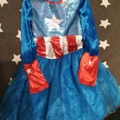Карнавальне платтячко від Marvel, на 7-8 років, зріст 122-128 см, ідеальний стан.