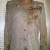 Акция!!!Легусенькая тоненькая стрейчевая рубашка Friendtex с люрексовой нитью .Очень хорошо тянется.