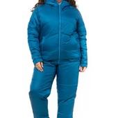 Женский зимний спортивный костюм 7 цветов Батал плащевка на овчинке пр-во Украина недорого