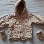 Куртка на малыша + подарок джинсы
