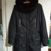 рXL(наш50).Теплое пальто Decently.Женское пальто .