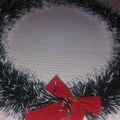 Сделай сам венок Рождественский на дверь, d-35 см без украшений, заготовка