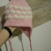 Зимняя шапка для девочки (Собирайте лоты)
