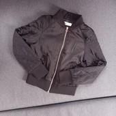 Куртка бомбер для девочки