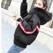 Шик куртка оверсайз зима- осень стильная