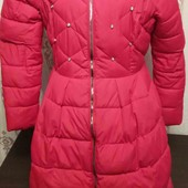 Тёплое модное пальто зима
