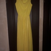 Много лотов от 49 грн. Яркое платье в пол