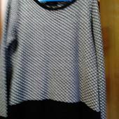 Красивый фирменный свитерок с люрексовой нитьюНекст на 52-54р. Состояние нового.