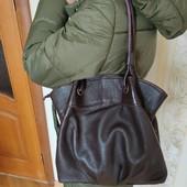 Удобная сумка,натуральная кожа