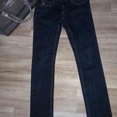 Женские темно-синие джинсы Leopard
